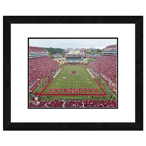 "Arkansas Razorbacks Stadium Framed 11"" x 14"" Photo"