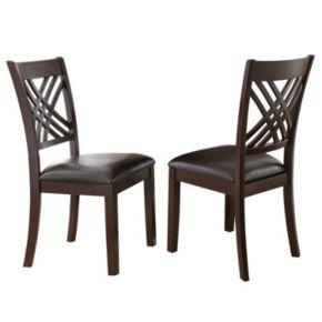 Branton Home Adrian Dining Chair 2-piece Set