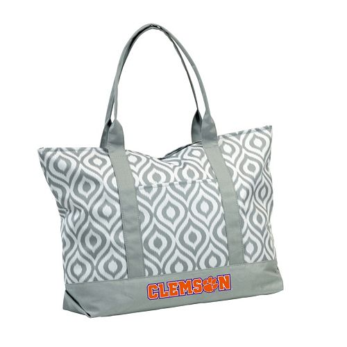 Logo Brand Clemson Tigers Ikat Tote
