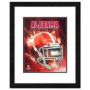 "Alabama Crimson Tide Helmet Framed 11"" x 14"" Photo"