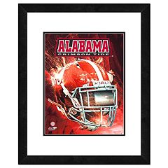 Alabama Crimson Tide Helmet Framed 11' x 14' Photo