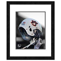 Auburn Tigers Helmet Framed 11' x 14' Photo