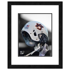 "Auburn Tigers Helmet Framed 11"" x 14"" Photo"