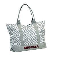 Logo Brand Georgia Bulldogs Ikat Tote