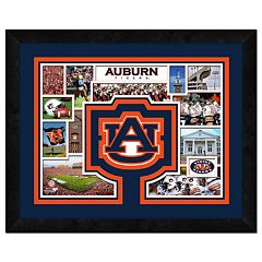 Auburn Tigers Logo Framed 11' x 14' Photo