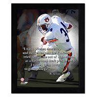 Auburn Tigers Bo Jackson Framed 11