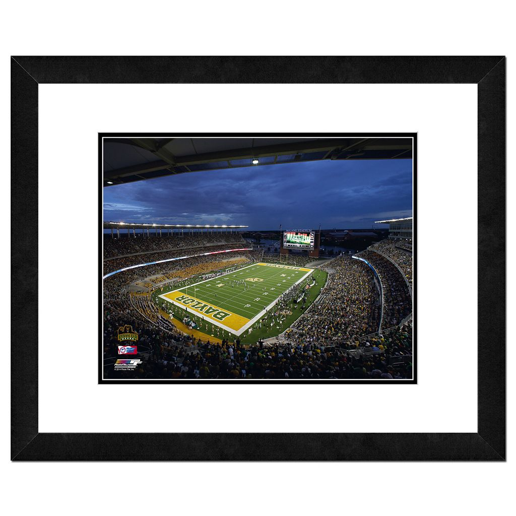 Baylor Bears Stadium Framed 11