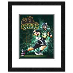 Baylor Bears Action Shot Framed 11' x 14' Photo