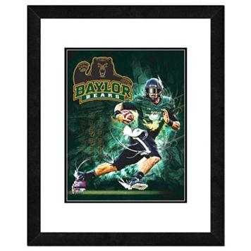 Baylor Bears Action Shot Framed 11