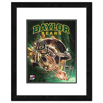 Baylor Bears Helmet Framed 11