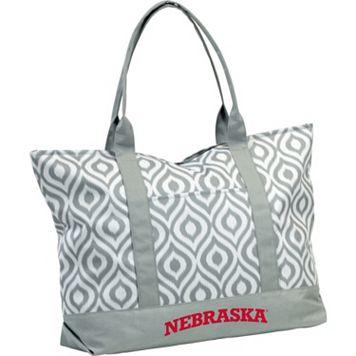Logo Brand Nebraska Cornhuskers Ikat Tote