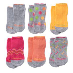Girls Comfort Toe 6-pk. Low Cut Socks