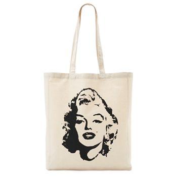 9ff529fd9832 Tri-Coastal Design Marilyn Monroe Face Reusable Tote