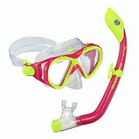 U.S. Divers 2-piece Buzz/Island Dry Junior Mask & Snorkel Set