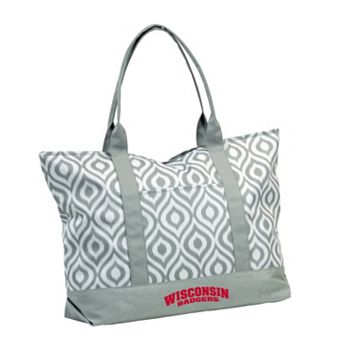 Logo Brand Wisconsin Badgers Ikat Tote