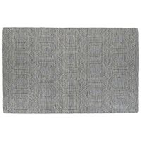 Kaleen Imprints Modern Diamond Geometric Wool Rug