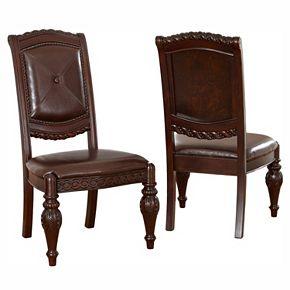 Branton Home Antoinette Dining Chair 2-piece Set