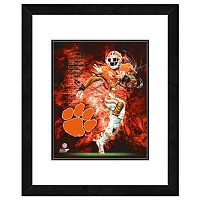 Clemson Tigers Action Shot Framed 11