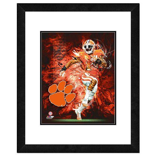 Clemson Tigers Action Shot Framed 11