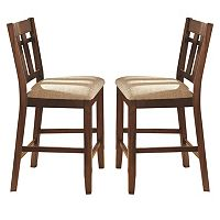 Branton Home Bolton Counter Chair 2-piece Set