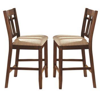 Branton Home Bolton Counter Chair 2-piece Set