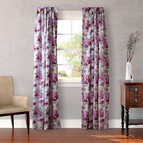 Laura Ashley 2-pack Lifestyles Lidia Window Curtains - 54'' x 87''
