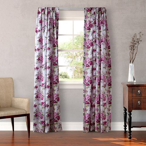 Laura Ashley 2-pack Lifestyles Lidia Window Curtains