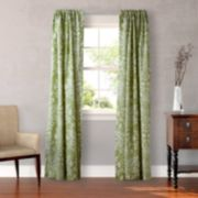 Laura Ashley Lifestyles 2-pack Rowland Window Curtains - 54'' x 87''