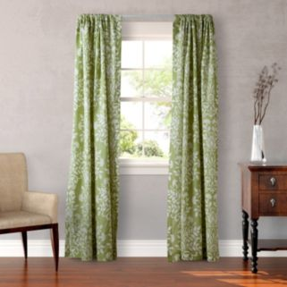 Laura Ashley Lifestyles 2-pack Rowland Window Curtains - 54'' x 87''