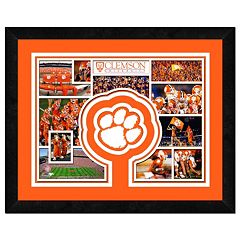 Clemson Tigers Logo Framed 11' x 14' Photo