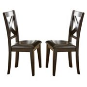 Branton Home Crosspointe Dining Chair 2 pc Set