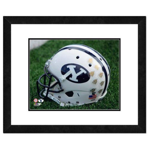"BYU Cougars Helmet Framed 11"" x 14"" Photo"