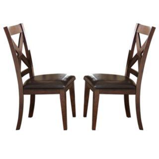 Branton Home Clapton Dining Chair 2-piece Set