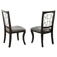 Branton Home Cayman Dining Chair 2 pc Set