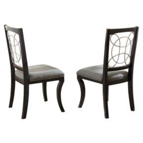 Branton Home Cayman Dining Chair 2-piece Set