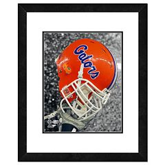 Florida Gators Helmet Framed 11' x 14' Photo