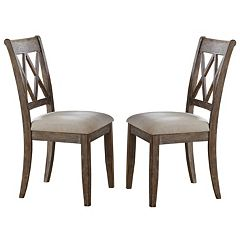 Branton Home Franco Dining Chair 2 pc Set