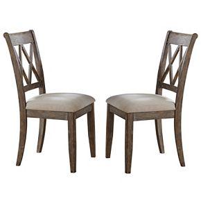 Branton Home Franco Dining Chair 2-piece Set