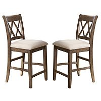 Branton Home Franco Counter Chair 2-piece Set
