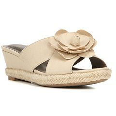 LifeStride Omega Women's Espadrille Wedge Sandals