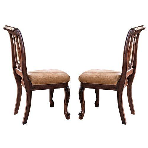 Branton Home Harmony Dining Chair 2-piece Set
