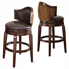 Branton Home Jasper Bar Stool 2-piece Set