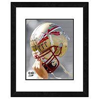 Florida State Seminoles Helmet Framed 11