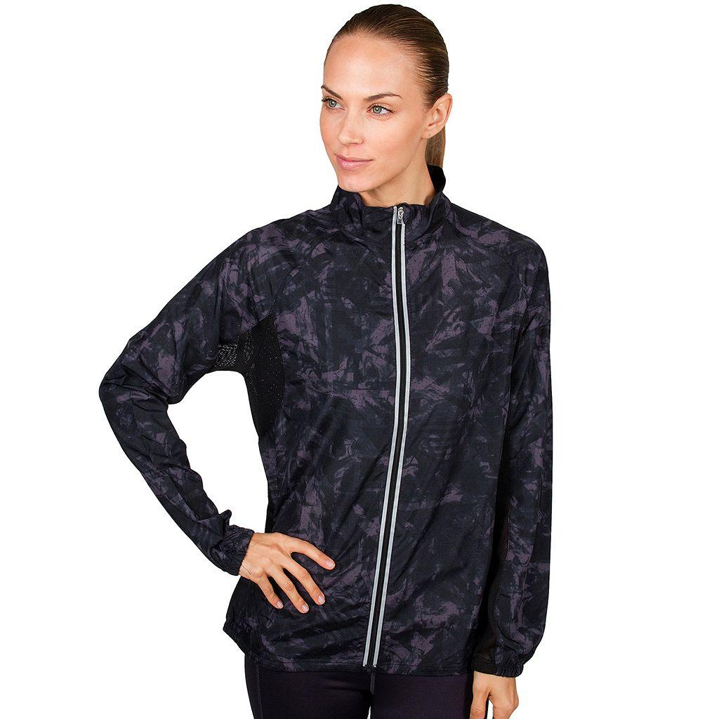 Women's Jockey Sport Lava Printed Running Jacket