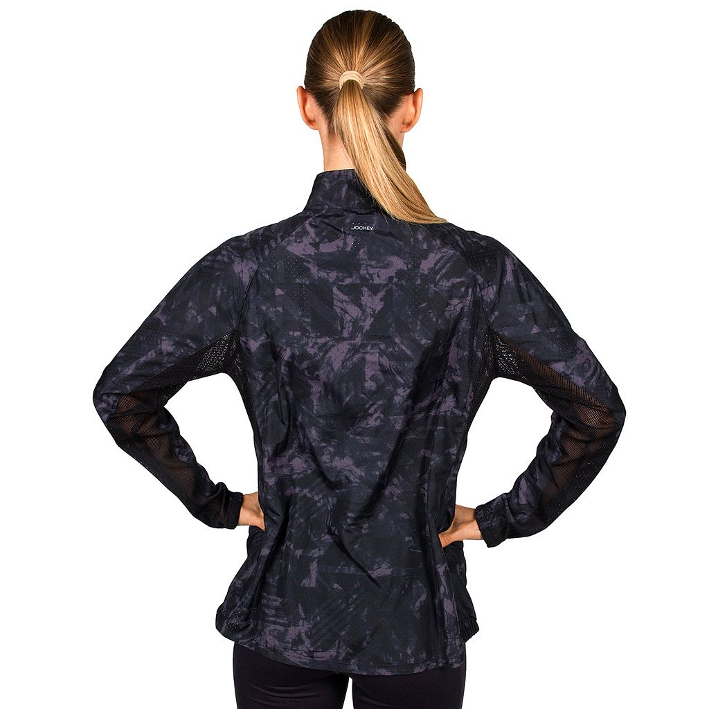 Women's Jockey Sport Lava Printed Running Jacket