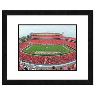 "Georgia Bulldogs Stadium Framed 11"" x 14"" Photo"