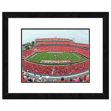 Georgia Bulldogs Stadium Framed 11