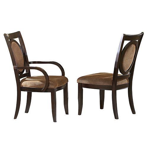 Branton Home Montblanc Dining Chair 2-piece Set