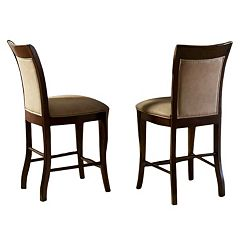 Branton Home Marseille Counter Chair 2-piece Set