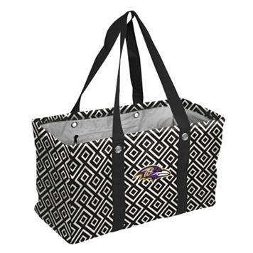 Logo Brand Baltimore Ravens Diamond Picnic Caddy
